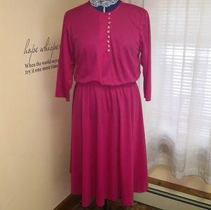 Vintage 1970s Impromptu swing dress